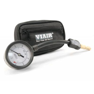 Манометр-дефлятор VIAIR (0-60 PSI, резьбовое подсоединение, сумка)