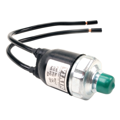 Датчик давления VIAIR 140/175 PSI, 1/8M, герметичный, провода с увеличенным сечением