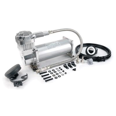 Компрессор VIAIR 450C, хром, с обратным клапаном и шлангом (100% рабочий цикл)