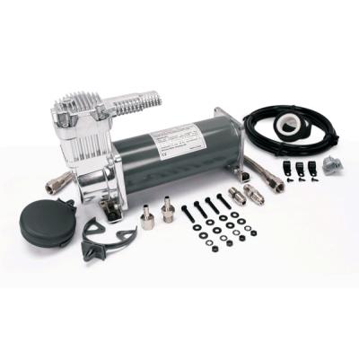 Компрессор VIAIR 450C IG, с улучшенным охлаждением, обратным клапаном и шлангом (100% рабочий цикл)