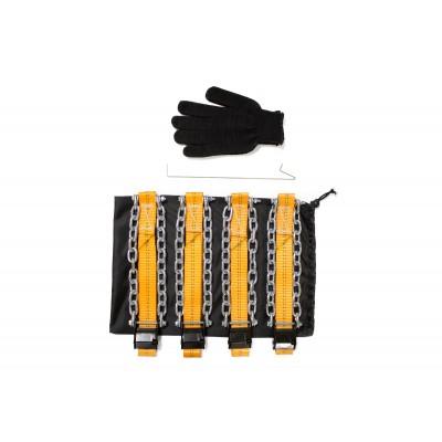 Комплект браслетов противоскольжения R15-R16 повышенной прочности T8 для а/м класса Газель 8 шт.